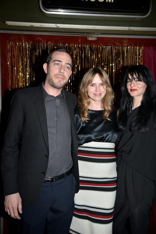 Λουκάς Μπομπότης, Άννα Ζιντσένκο, Genevieve Majari