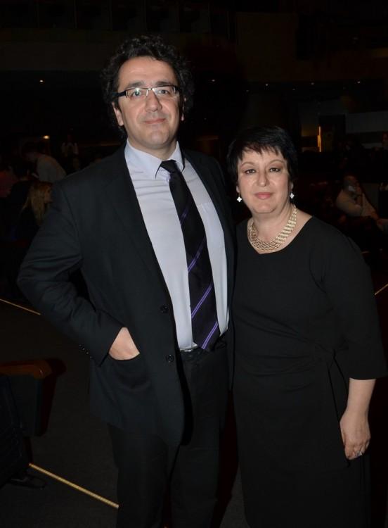 Θοδωρής Ορφανίδης και Σόνια Θεοδωρίδου