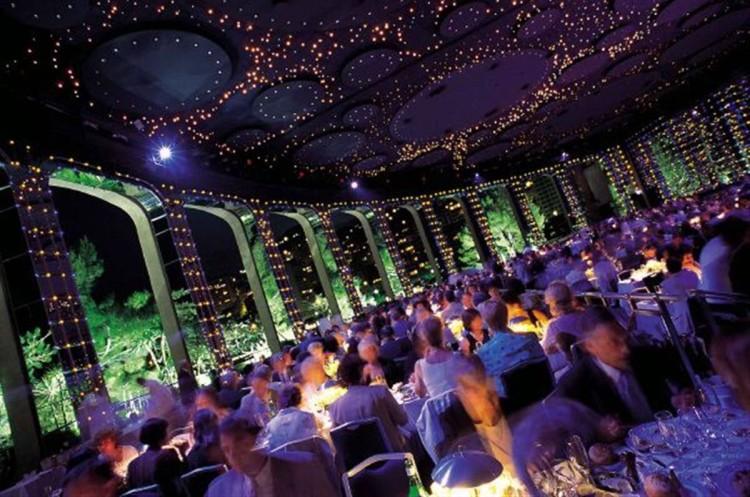 Άποψη από την βραδιά στο Le Sporting Monte-Carlo