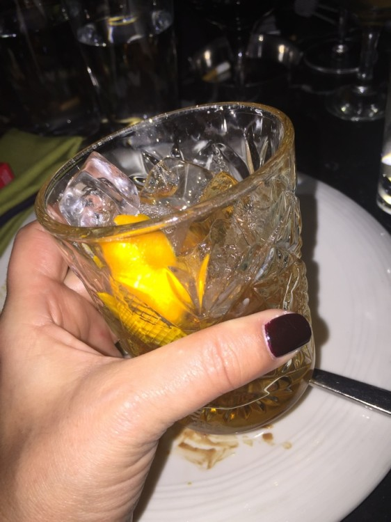 ...Που συνοδεύεται με Hemingway Cocktail...