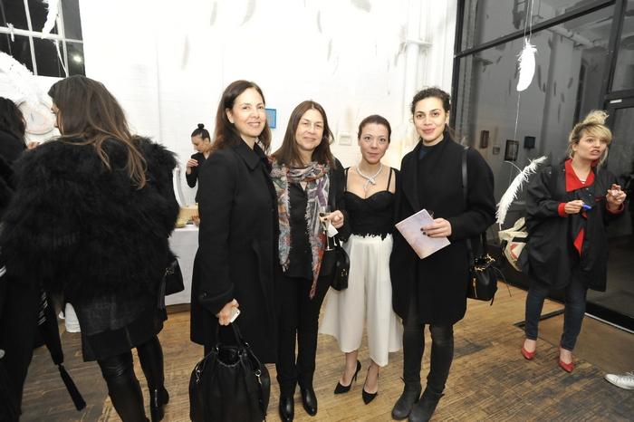 Marianna Chadjipatera, Rallia Psarros, Sofia Konstantopoulou-Papadopoulos, Tika Moschos