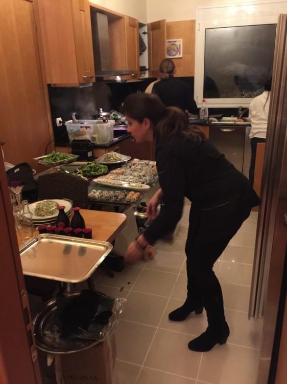 Ζηλεύω, ήθελα και εγώ να μαγειρέψω μαζί της...