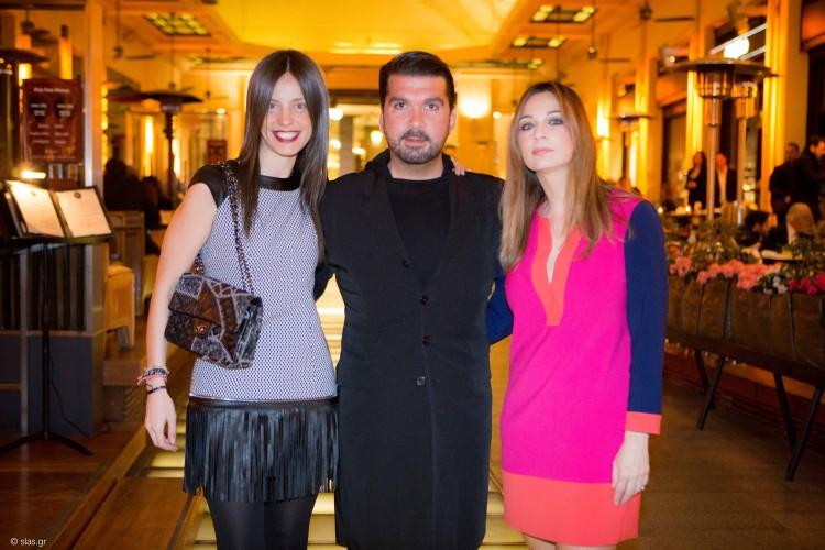 Χρυσιάννα Ανδριοπούλου, Στέλιος Καφαντάρης, Ευφροσύνη Πολυζώη