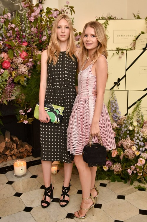 Ella Richards & Lottie Moss