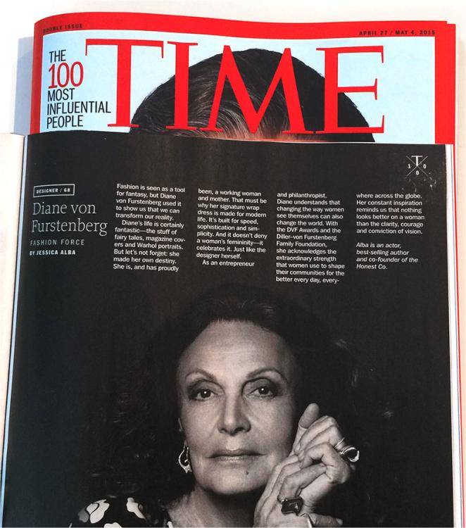The 100 Most Influential People Diane Von Furstenberg