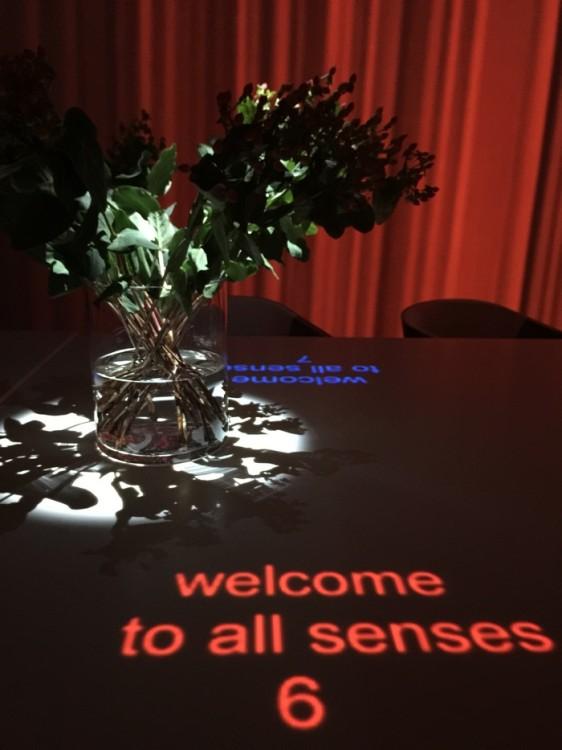 Το ένα και μοναδικό τραπέζι για δώδεκα άτομα, μας υποδέχεται...Αρχίζουν να ενεργοποιούνται και οι πέντε αισθήσεις, let the magic begin...