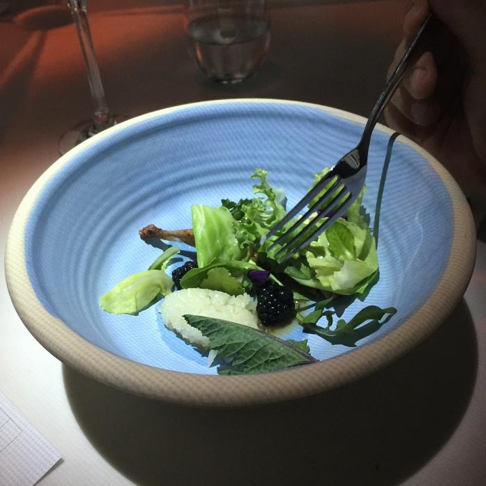 Ορτύκι με τουρσί μάραθου, βότανα και καφέ βούτυρο!