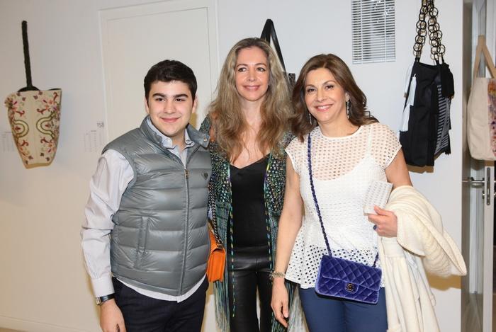 Νίκος Γιαννακόπουλος, Ναταλία συγγελίδη, Αλεξάνδρα Γιαννακοπούλου-Πάλλη