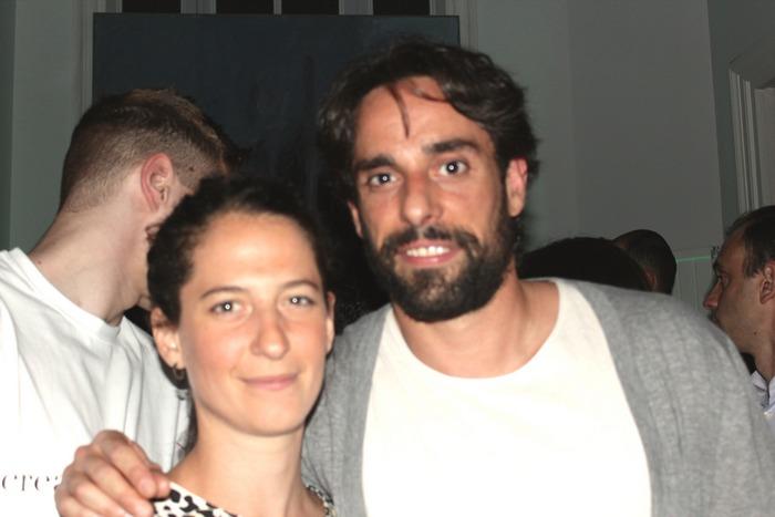 Η Μελίνα Πίσπα και ο Πάνος Φαμέλης.