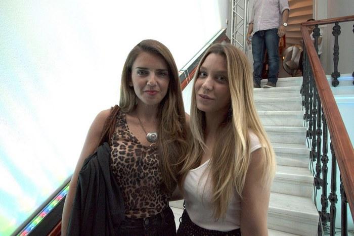 Η Μαριάνα Σμπώκου και η Κατρίνα Τσάνταλη.