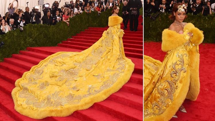 WOW! H Rihanna με Guo Pei Haute Couture...