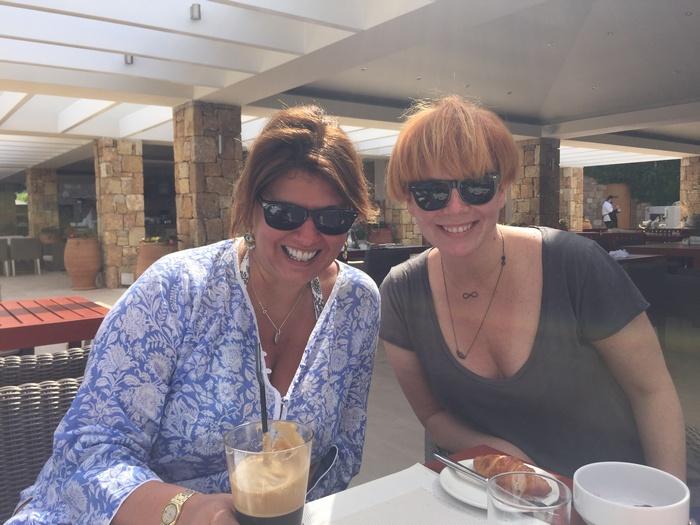 """Πρωινό στο Dunes με την Γεωργία Δώδου, την """"ψυχή"""" και την """"καρδιά"""", την οικοδέσποινα του Sani Gourmet Festival..."""