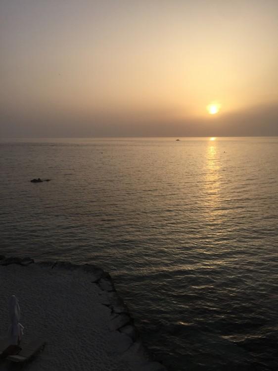 Άλλο ένα ηλιοβασίλεμα στο Sani...