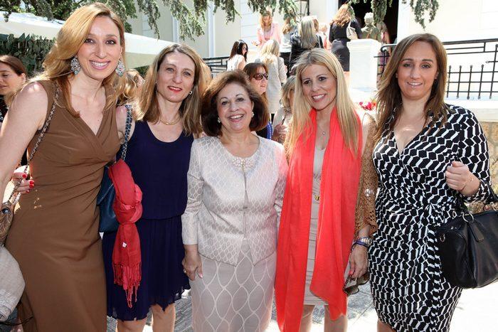 Έλενα Ντάβλα,  Λία Παπαδαυϊδ, ΑΒΥ Πριγκίπισσα Αικατερίνη,  Βάσια Παπαδημητρίου,  Χαρά Μαθιοπούλου