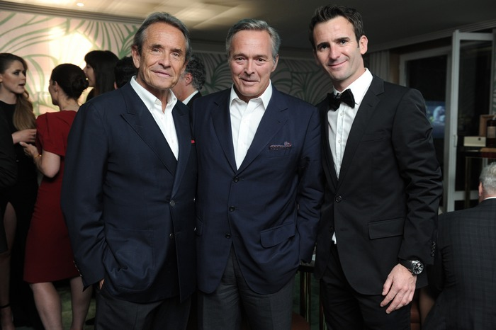 Jacky Ickx, KF Scheufele, Romain Dumas