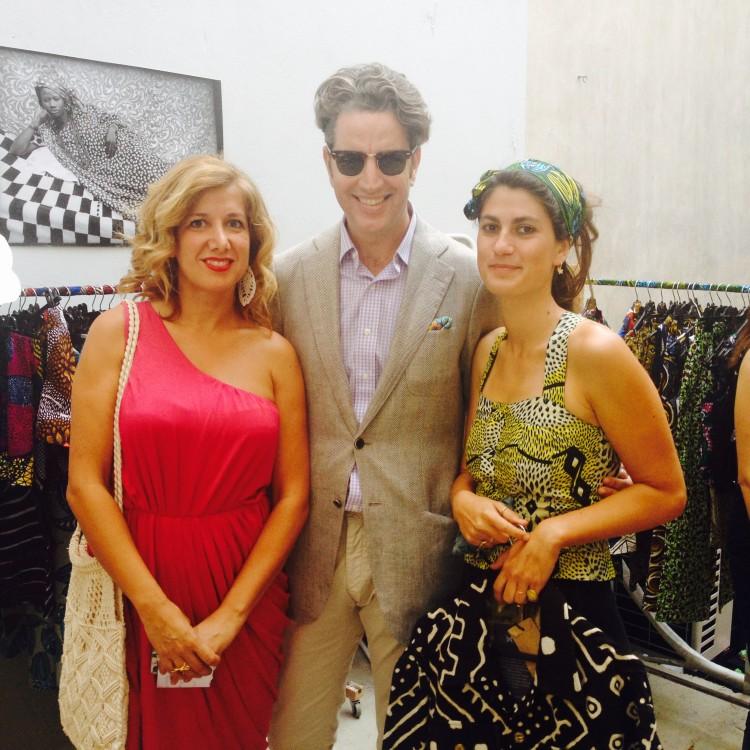 Η Σάντυ Τσαντάκη, ο Κίμων Φραγκάκης και η Irene Mamfredos