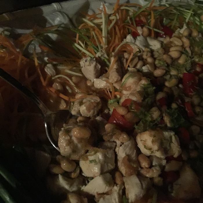 Και το talk of the town Κοτόπουλο με τα Φυστίκια και το Φυστικοβούτυρο!!!