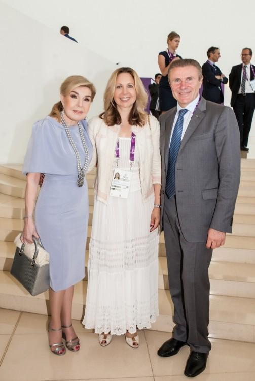 Μαριάννα Β. Βαρδινογιάννη, Sergey Bubka και η σύζυγός του