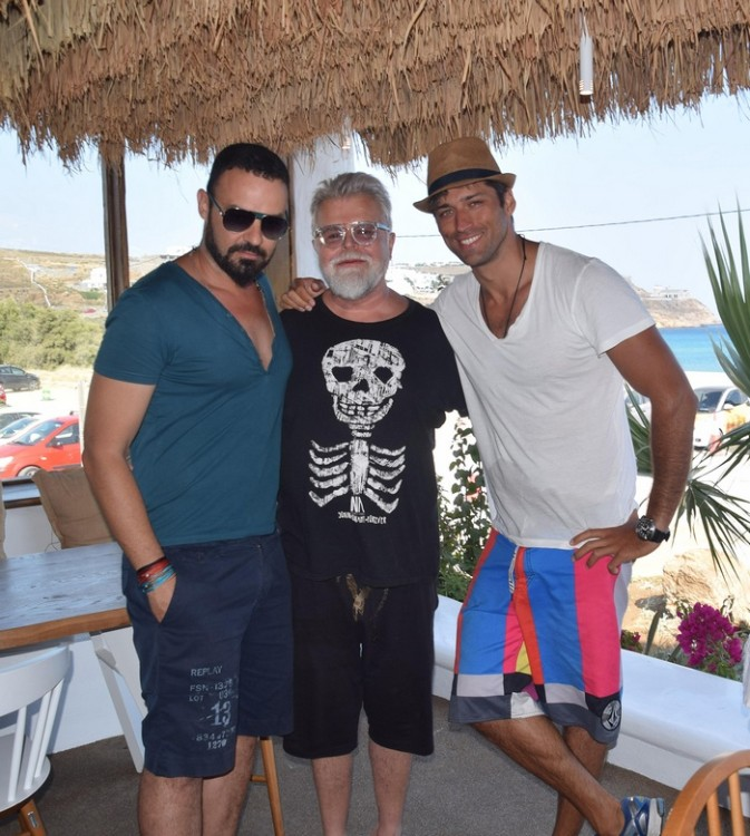 Θάνος Κολοκυθάς, Νίκος Αποσστολόπουλος, Άλεξ Παππάς