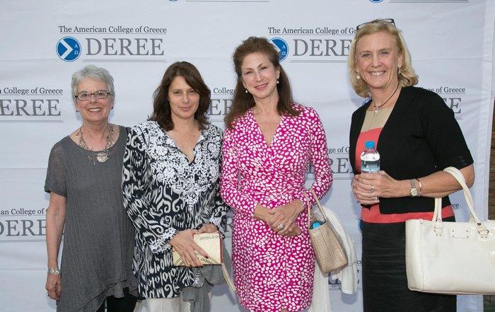 Maureen Cook, Joanna Miller, Nancy Greenberg, Kelly Morra – Αντιπρόεδρος του Αμερικανικού Κολλεγίου Ελλάδος / Finance & CFO