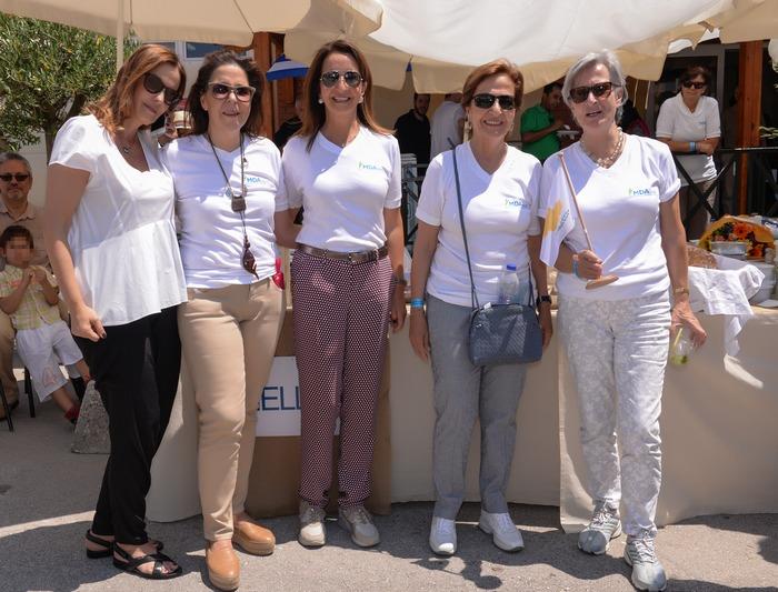 Αλίνα Μαραγκού, Πηνελόπη Μπάρλου, Βάνα Λαβίδα, Καίτη Δαυίδ & κ. Μαστωρούδη.