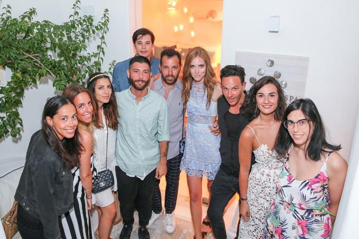 H Chiara Ferragni και η ομάδα της The Blonde Salad Crew