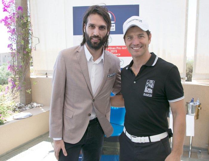 Γιώργος Σαμαράς , Διεθνής Ποδοσφαιριστής και Σάκης Ρουβάς