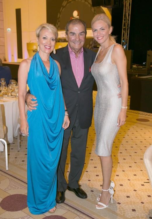 Ρένα Παπαδοπούλου , Peter Pappas και Χριστίνα Κοντοβά