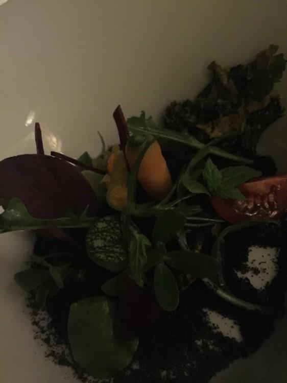 Το πρώτο από το Experience Menu των πέντε πιάτων...