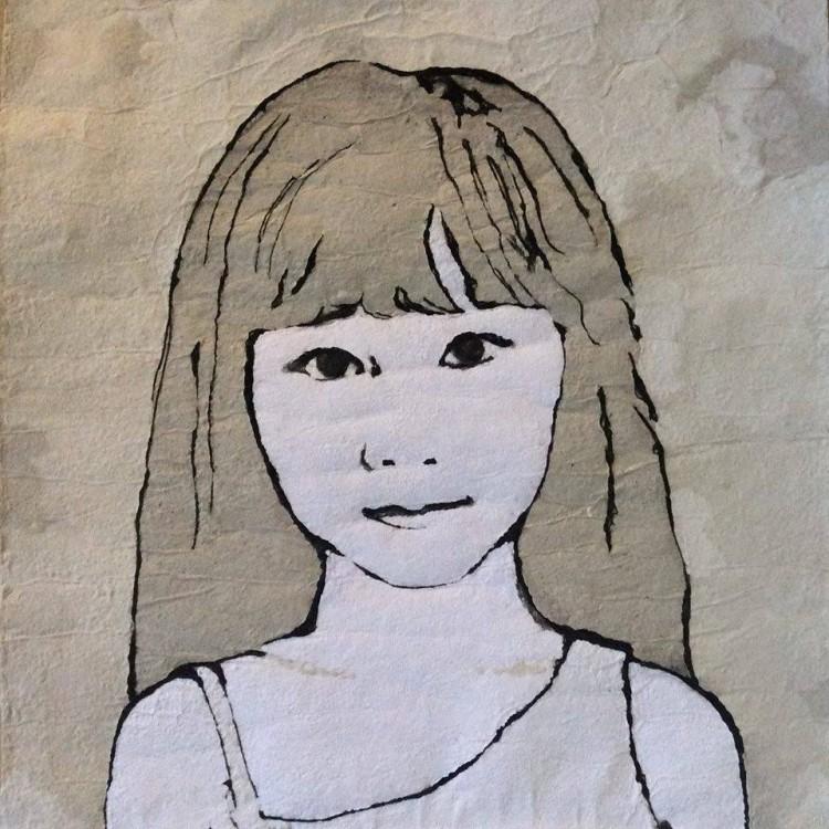 Ζήση, πορτρέτα παιδιών, ζωγραφική σε χαρτί