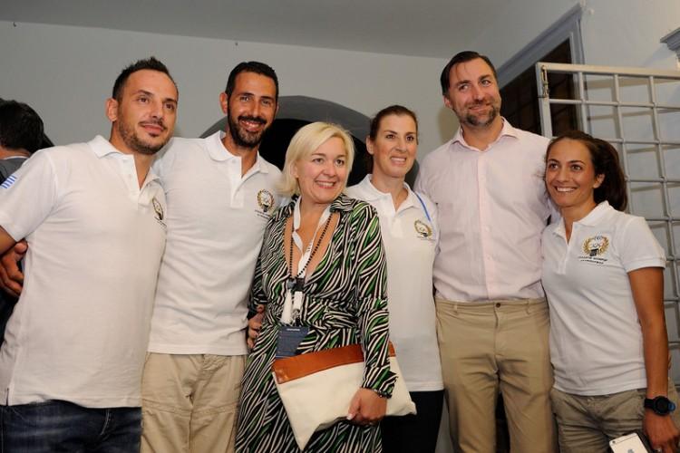 Συλλογος ελληνων ολυμπιονικών –Μαρινα Κουταρελλη – Christian Bohlke Chief Marketing Officer NN Hellas