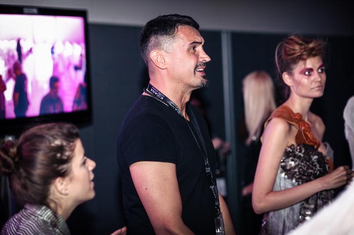 Backstage Vasilije Kovacev