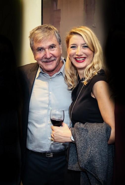 Ο Γιάννης Αδαμάκος με την Μαριαλένα Σπυροπούλου