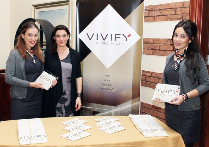 Τα κορίτσια του VIVIFY The Beauty Lab