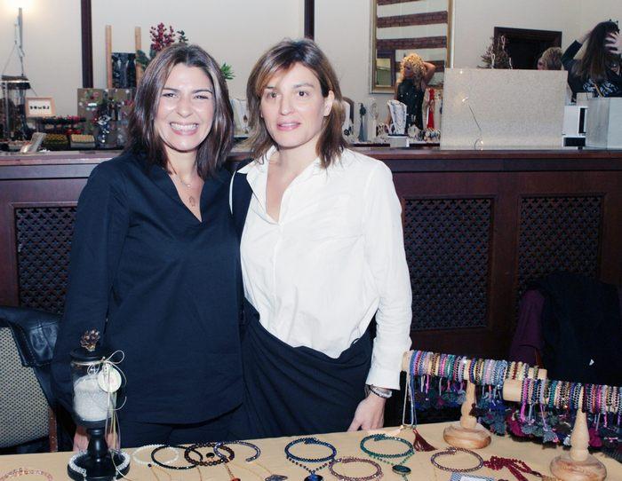 Μαρία & Έλλη Γρηγοριάδου της ELLI+I jewellery & accessories