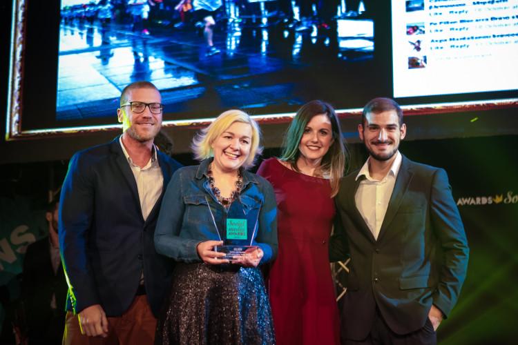 Mέσα από την πολύ πετυχημένη 5η διοργάνωση του Spetses Mini Marathon, η εταιρία διακρίθηκε ανάμεσα σε πλήθος από brands και agencies που ξεχώρισαν, και απέσπασε το Silver Award στην κατηγορία Best Use of Social Media στην ενότητα Sports.