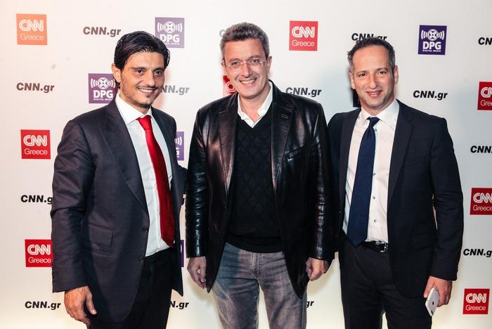 Δημήτρης Γιαννακόπουλος, Νίκος Χατζηνικολάου, Greg Beitchman