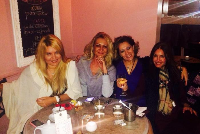 Κέλλυ Ξήνη, Μαρίζα Λέκα, Τζίνα Θανοπούλου, Έρη Σακελλαρίου