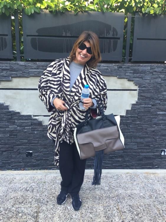 Τελευταία μου αγαπημένη αγορά, η τσάντα της Grecian Chick, από το χθεσινό bazaar στο Ecali Club!
