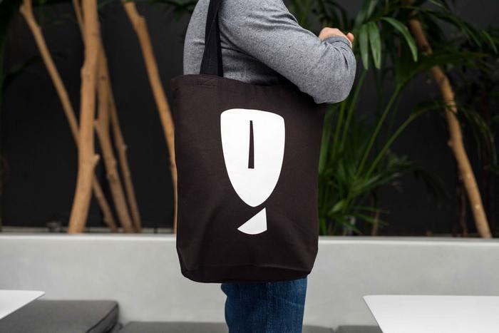 Πάνινη τσάντα με το κυκλαδικό κεφάλι | € 15,00