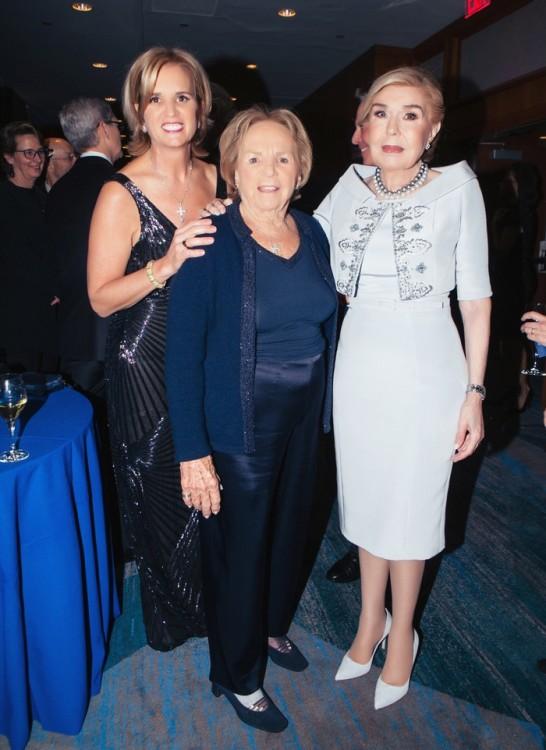 Ethel Kennedy, Kerry Kennedy, Μαριάννα Βαρδονογιάννη