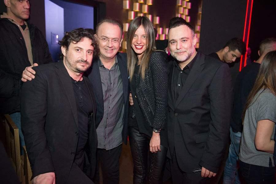 Γιάννης Μωράκης, ο Γιάννης Καζανίδης, η Χρυσιάνα Ανδριανοπούλου και ο Γιάννης Κουτράκης.