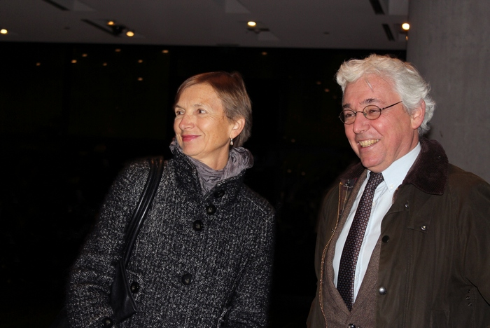 Ο Αλέξανδρος Φαρνού, Διευθυντής Γαλλικής Αρχαιολογικής Σχολής, με τη συζυγό του