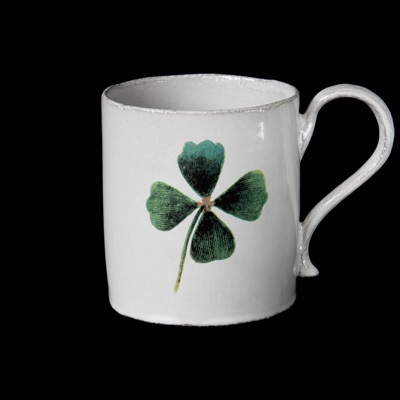4 leaves clover mug