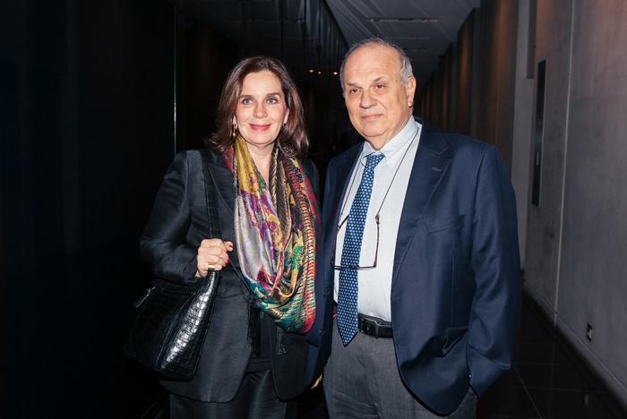 Ο κ. Σπύρος Πολλάλης και η σύζυγός του, Τατιάνα Σπινάρη-Πολλάλη
