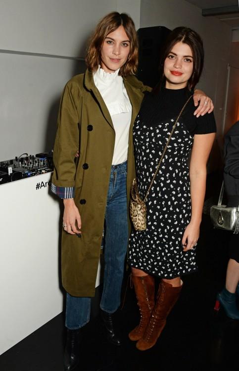 Η Alexa Chung και το μοντέλο Pixie Geldof