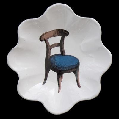 Plat Rond Chaise Cermic platter