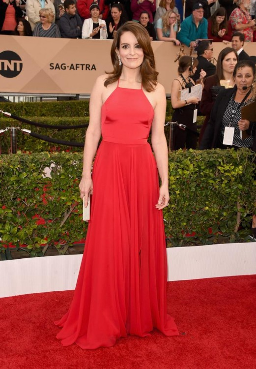 Tina Fey in Prabal Gurung