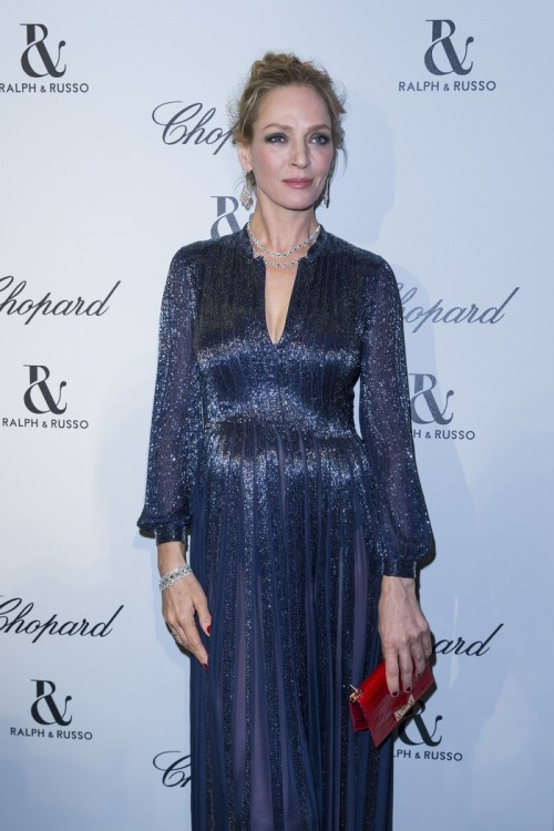 Uma Thurman in Chopard