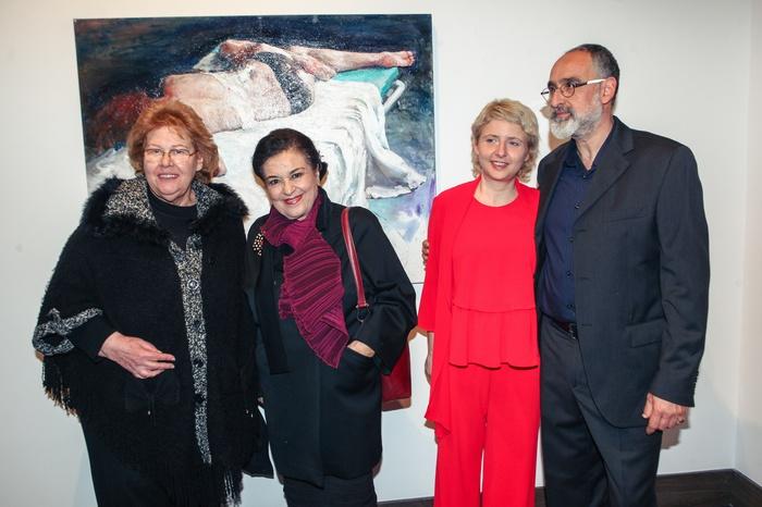 Αθηνά Σχινά, Μαρίνα Λαμπράκη Πλάκα, η Ιταλίδα Nunzia Perrone και ο Χρήστος Παλλαντζάς.